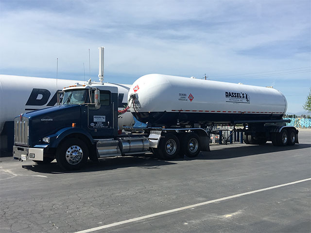 photo of commercial transport truck